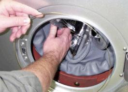 כיצד להחליף את השרוול במכונת הכביסה של LG