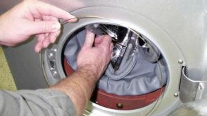 Hogyan kell cserélni a mandzsettát az LG mosógépen
