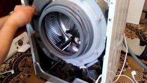 Hogyan lehet eltávolítani az LG mosógép előlapját?