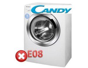 Pogreška E08 na perilici rublja Kandy