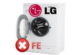 Как да поправите грешката на FE в пералнята на LG