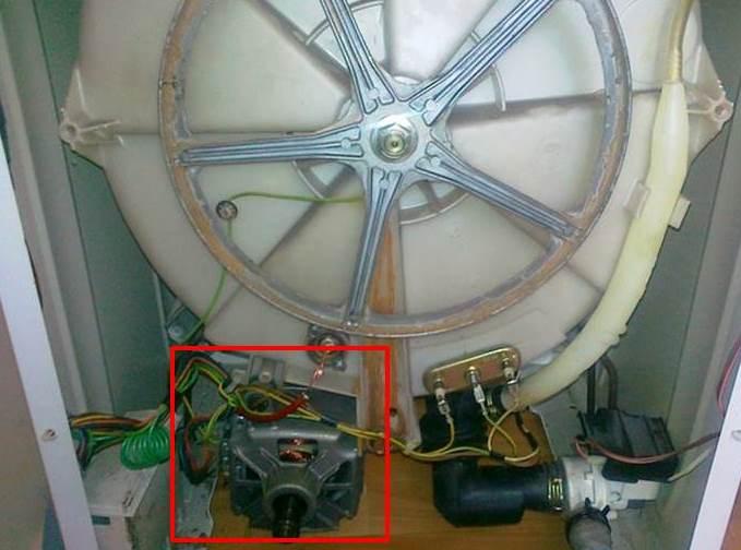 отстраняване на двигателя на CM Kandy