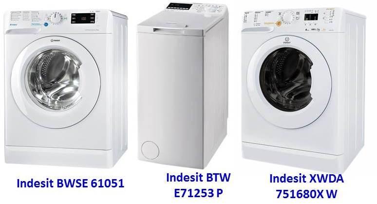 перални машини Indesit