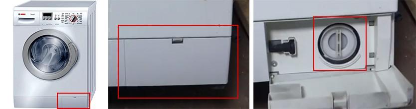 местоположение на филтъра в SM Bosch_1