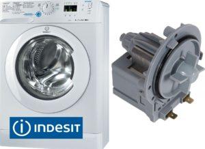 החלפת משאבת הניקוז במכונת כביסה Indesit