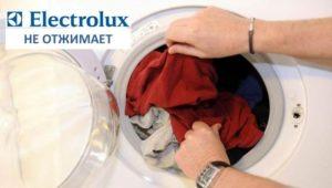 Electrolux perilica rublja se ne odstranjuje