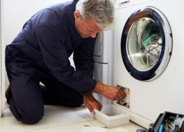 מכונת הכביסה של אלקטרולוקס אינה מתנקזת