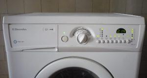 Gambaran keseluruhan mesin basuh electrolux sempit