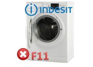 Pogreška F11 u perilici rublja Indesit