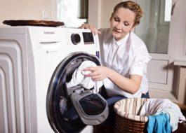 A Samsung mosógép áttekintése kiegészítő ruhaneművel