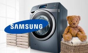 Kedudukan mesin basuh Samsung