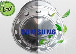 Почистване на еко барабан в пералнята на Samsung