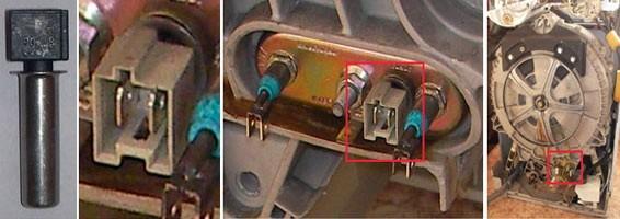 tarik keluar dan periksa termistor
