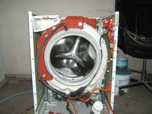 извадете резервоара за барабана от пералнята на Samsung