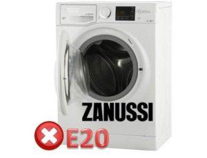 грешка E20 в CM Zanussi