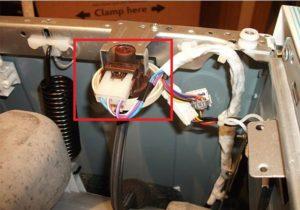 מיקום הלחץ בגוף המכונה