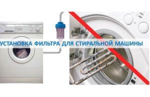 Szűrő beszerelése a mosógéphez
