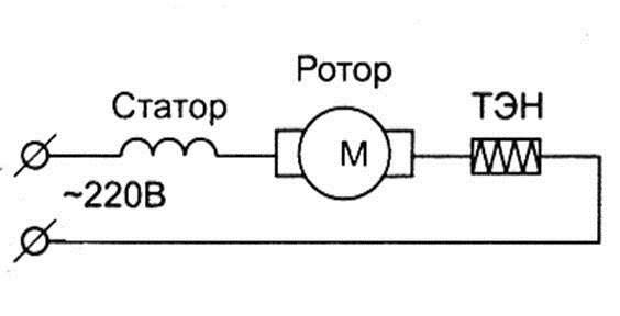 свързваме двигателя и нагревателя