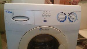 Az Ardo mosógép szétszerelése