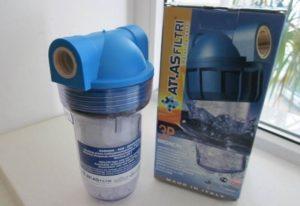 Vannmyknerfilter for vaskemaskin