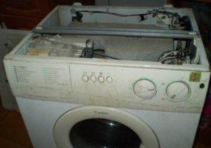 разглобете пералнята Ardo