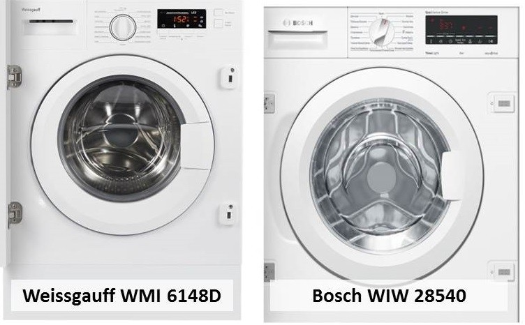 Bosch WIW 28540 Weissgauff WMI 6148D