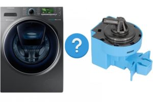 איפה מתג הלחץ במכונת הכביסה