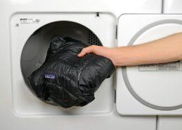 Как да измиете парк в пералня