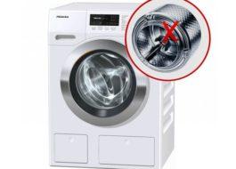 התוף במכונת הכביסה מסתובב לא טוב