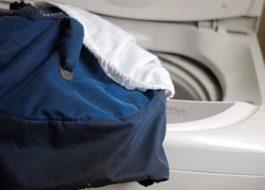 Как да перете раница в пералня