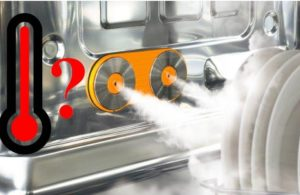 Каква е температурата на водата в съдомиялната машина по време на миене