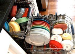Как да миете чинии в съдомиялната машина?