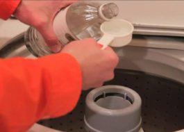 Възможно ли е при пране да се добави оцет в пералнята?