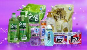 има доста много корейски прахове за пране