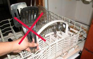 не всички съдове могат да се мият в съдомиялна машина