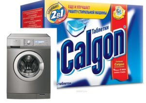 Pengganti Calgon untuk mesin basuh