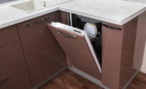 Как да поставите съдомиялна машина в кухнята?