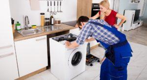 Siapa yang perlu membayar untuk membaiki mesin basuh di sebuah apartmen yang disewa?