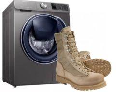 Téli cipő mosható mosógépben?