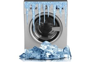 Мога ли да съхранявам пералня на студено?