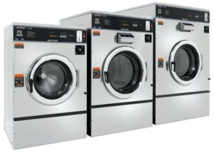 Kerja pakaian mesin basuh