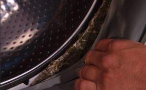 без почистване на машината ще расте мухъл