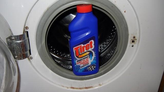 добавете Tiret за цялостно вътрешно почистване на машината