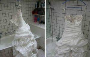 как да изсушим рокля
