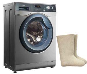 Bagaimana hendak membasuh kasut dirasai di mesin basuh