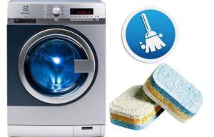 Как да почистите пералнята с таблетки за съдомиялна машина?