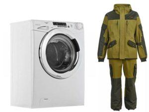 Wie man einen Anzug Gorka in einer Waschmaschine wäscht