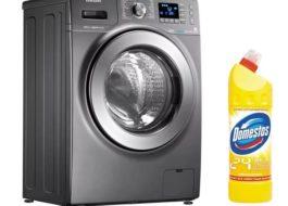 האם ניתן להוסיף Domestos למכונת הכביסה
