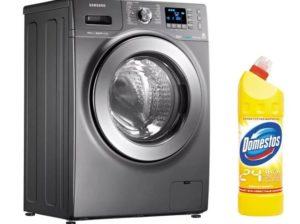 Възможно ли е да добавите Domestos към пералнята
