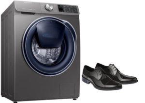 Adakah mungkin mencuci kasut kulit di mesin basuh